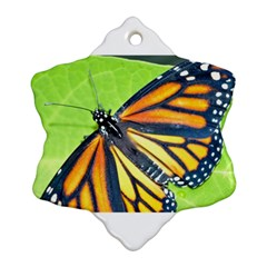 Butterfly 2 Snowflake Ornament (2 Side)