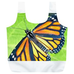 Butterfly 2 Full Print Recycle Bags (L)