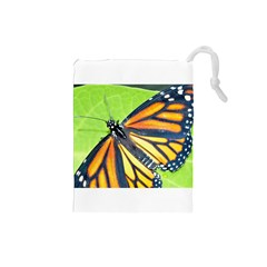 Butterfly 2 Drawstring Pouches (Small)