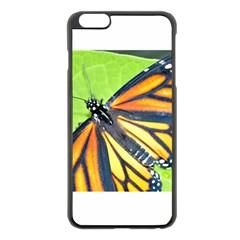 Butterfly 2 Apple iPhone 6 Plus Black Enamel Case