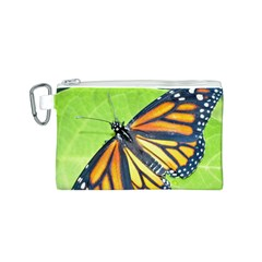 Butterfly 2 Canvas Cosmetic Bag (S)