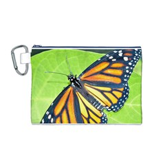 Butterfly 2 Canvas Cosmetic Bag (M)