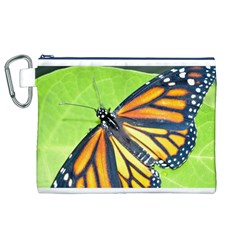 Butterfly 2 Canvas Cosmetic Bag (XL)