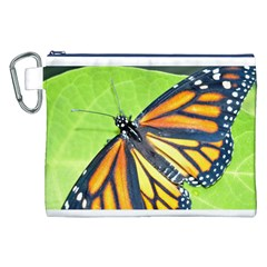 Butterfly 2 Canvas Cosmetic Bag (XXL)