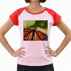 Butterfly 3 Women s Cap Sleeve T-Shirt