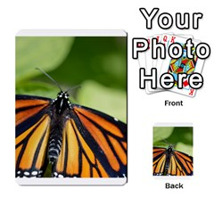 Butterfly 3 Multi-purpose Cards (Rectangle)