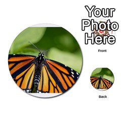 Butterfly 3 Multi Purpose Cards (round)