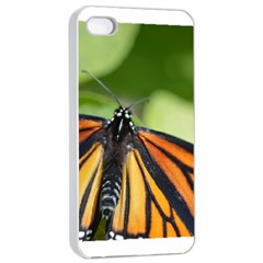 Butterfly 3 Apple Iphone 4/4s Seamless Case (white)