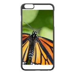 Butterfly 3 Apple iPhone 6 Plus Black Enamel Case