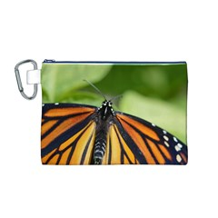 Butterfly 3 Canvas Cosmetic Bag (M)