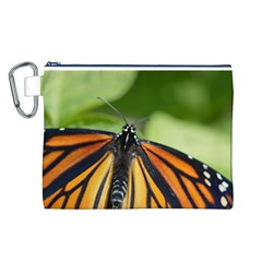 Butterfly 3 Canvas Cosmetic Bag (L)