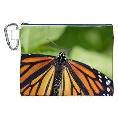 Butterfly 3 Canvas Cosmetic Bag (XXL)