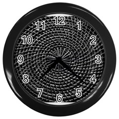 Spinning Out Of Control Wall Clocks (black)