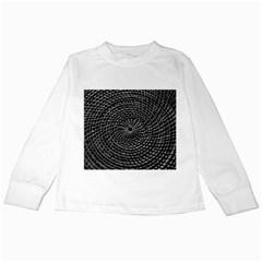 Spinning Out Of Control Kids Long Sleeve T Shirts