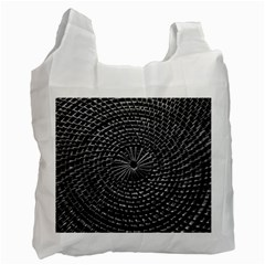Spinning Out Of Control Recycle Bag (two Side)