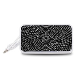 SPinning out of control Portable Speaker (White)