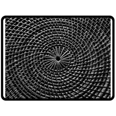 SPinning out of control Double Sided Fleece Blanket (Large)