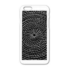 Spinning Out Of Control Apple Iphone 6 White Enamel Case