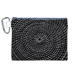 SPinning out of control Canvas Cosmetic Bag (XL)