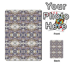 Oriental Geometric Floral Print Multi Purpose Cards (rectangle)