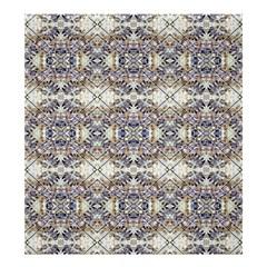 Oriental Geometric Floral Print Shower Curtain 66  X 72  (large)