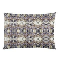 Oriental Geometric Floral Print Pillow Cases (two Sides)