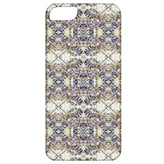 Oriental Geometric Floral Print Apple Iphone 5 Classic Hardshell Case