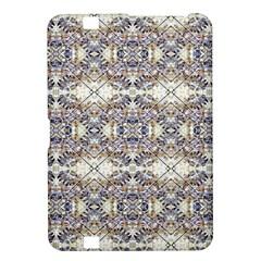 Oriental Geometric Floral Print Kindle Fire Hd 8 9