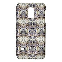 Oriental Geometric Floral Print Galaxy S5 Mini