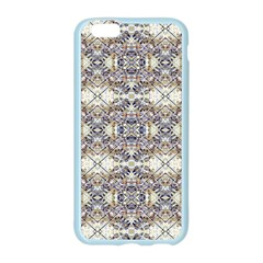 Oriental Geometric Floral Print Apple Seamless iPhone 6 Case (Color)
