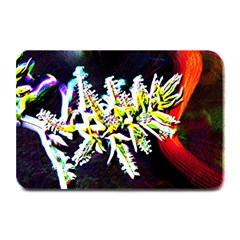 Digitally Enhanced Flower Plate Mats