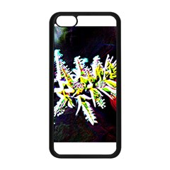 Digitally Enhanced Flower Apple Iphone 5c Seamless Case (black)
