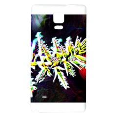 Digitally Enhanced Flower Galaxy Note 4 Back Case