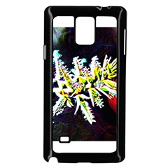 Digitally Enhanced Flower Samsung Galaxy Note 4 Case (black)
