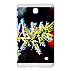 Digitally Enhanced Flower Samsung Galaxy Tab 4 (8 ) Hardshell Case