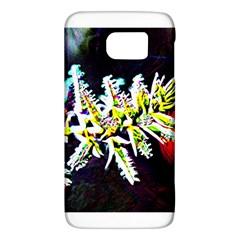 Digitally Enhanced Flower Galaxy S6