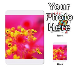 Bright Pink Hibiscus Multi Purpose Cards (rectangle)