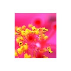 Bright Pink Hibiscus Shower Curtain 48  x 72  (Small)