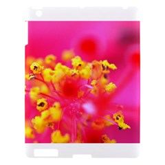 Bright Pink Hibiscus Apple Ipad 3/4 Hardshell Case