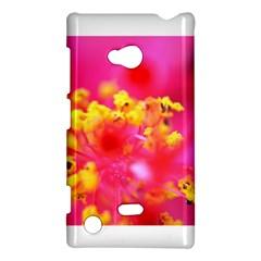 Bright Pink Hibiscus Nokia Lumia 720