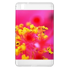 Bright Pink Hibiscus Samsung Galaxy Tab Pro 8.4 Hardshell Case