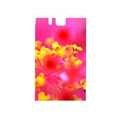 Bright Pink Hibiscus Samsung Galaxy Alpha Hardshell Back Case
