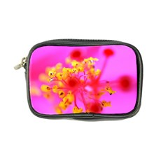 Bright Pink Hibiscus 2 Coin Purse