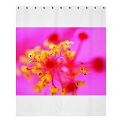 Bright Pink Hibiscus 2 Shower Curtain 60  x 72  (Medium)