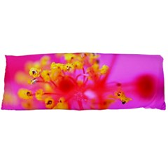 Bright Pink Hibiscus 2 Body Pillow Cases Dakimakura (two Sides)
