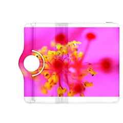 Bright Pink Hibiscus 2 Kindle Fire Hdx 8 9  Flip 360 Case