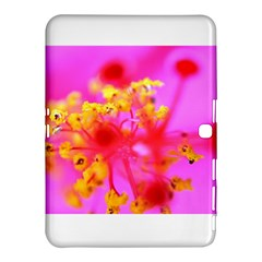 Bright Pink Hibiscus 2 Samsung Galaxy Tab 4 (10.1 ) Hardshell Case
