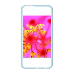 Bright Pink Hibiscus 2 Apple Seamless iPhone 6 Case (Color)