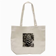 Pinecone Spiral Tote Bag (Cream)