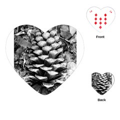 Pinecone Spiral Playing Cards (Heart)